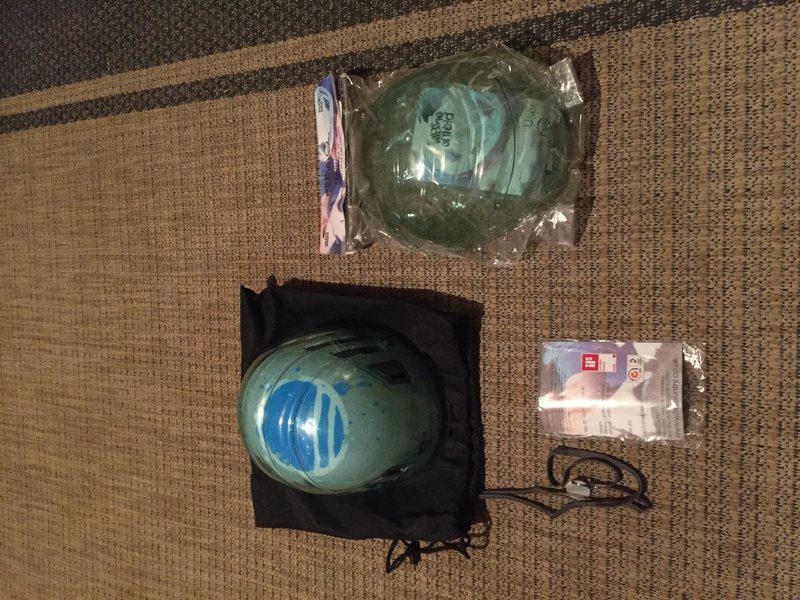 Wild country mountaineering helmet with extra Shield. $70 or best offer