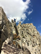 Rock Climbing Photo: Somewhere on the South Ridge.