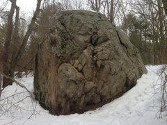 "Rock Climbing Photo: Boulder Brook ""Fairy Rock""."