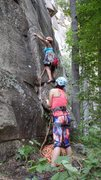 Rock Climbing Photo: Green Onion, Poke-O-Moonshine @ ADK