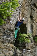 Rock Climbing Photo: Erica at the start
