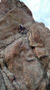 Rock Climbing Photo: Crystal Crimpin'.