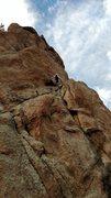 Rock Climbing Photo: Stellar stairway.