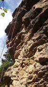 Rock Climbing Photo: Start of White Trash Summer.