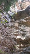 Rock Climbing Photo: Lower half of Glass Catcher.