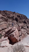 Rock Climbing Photo: The Boulder on Red Rock