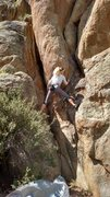 Rock Climbing Photo: Lia Alicia demonstrating perfect form on the start...