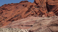 Rock Climbing Photo: Red Rock contrast