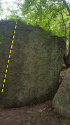 Rock Climbing Photo: Start at the obvious fingers crack. Sit start is V...