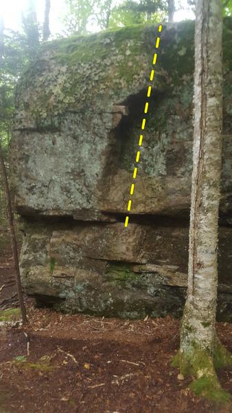 Rock Climbing Photo: Kara (direct), V4.