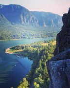 View of the Gorge from SE Corner of Beacon Rock