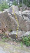 Rock Climbing Photo: Playing Hookie.
