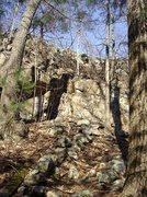 Rock Climbing Photo: Rocky Ledges at Boulder Brook.