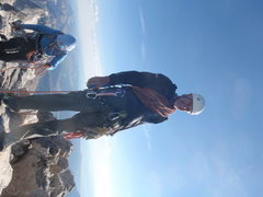 Rock Climbing Photo: Top of the Grand Teton.