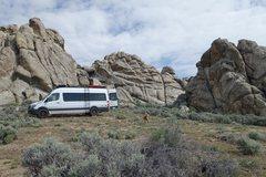 Rock Climbing Photo: Cool spot in Nevada