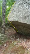 Rock Climbing Photo: Roof problem.