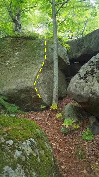 Rock Climbing Photo: Blob.