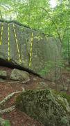 Rock Climbing Photo: Various warm ups. V-easy.