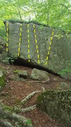 Rock Climbing Photo: Warm ups. V-easy.
