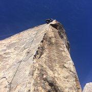 Rock Climbing Photo: Fun exposure on Cryptic 5.8
