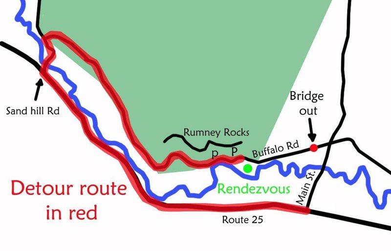 Detour to Rumney Climbing.