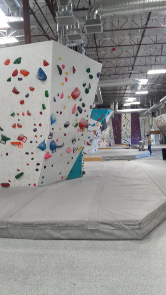 Origin climbing Gym ,,, the best Boulder problems and autobelay routes are good to.