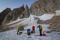 From the base of the North Peak, North Couloir