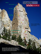 Rock Climbing Photo: Route Overlay