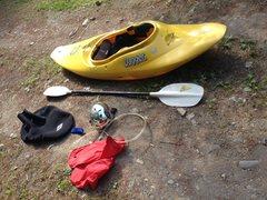Rock Climbing Photo: kayak