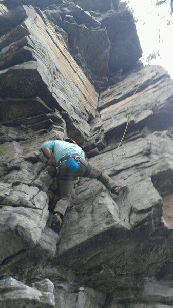 Rock Climbing Photo: Some TR on poledancer
