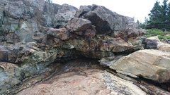 Rock Climbing Photo: The Birdcage alcove