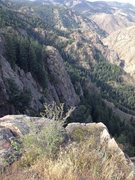 Rock Climbing Photo: Lower Tier from the east above Jericho.
