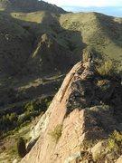 Rock Climbing Photo: Approaching Juniperi.