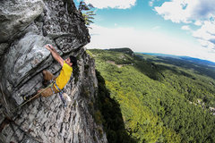 Rock Climbing Photo: Don't miss the top pitch...
