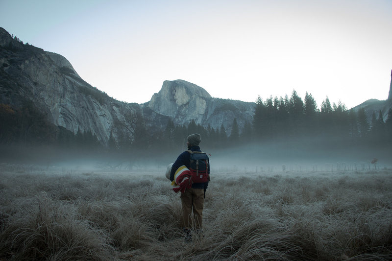 Rock Climbing Photo: A shot I took of Half Dome while on a shoot for To...