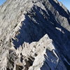 The knife edge and Capitol's summit.