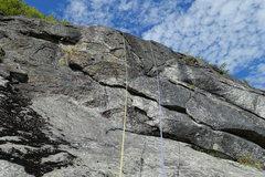 Rock Climbing Photo: Pitch 3, headwall