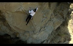 Rock Climbing Photo: In the Crux of Perro.