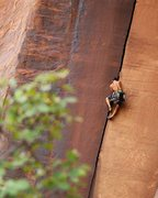 Rock Climbing Photo: Kiefer Kelley, finally putting up the route his da...