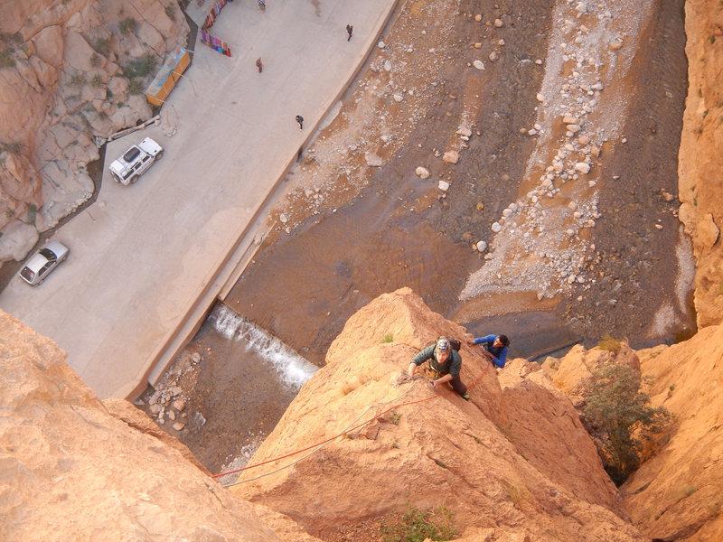 Climbing in Morocco, Aventures verticales Maroc, Aiguille du Gué 1