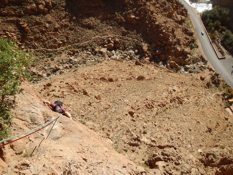 Climbing Morocco, Aventures verticales Maroc, Aiguille du Grabe 1