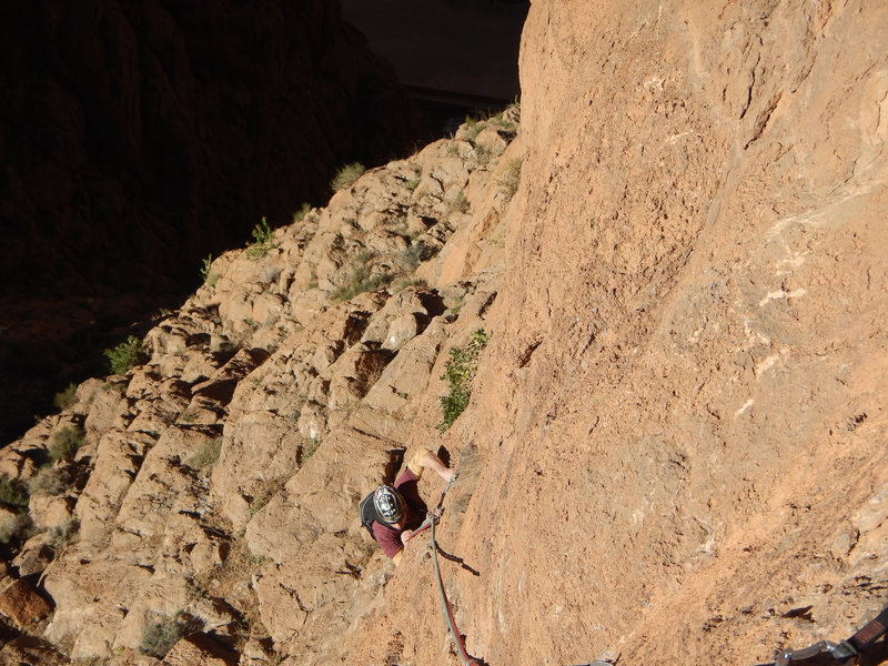 Climbing Morocco, Aventures verticales Maroc, Aiguille du Grabe 2