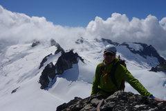 Rock Climbing Photo: Klawatti Peak, North Cascades