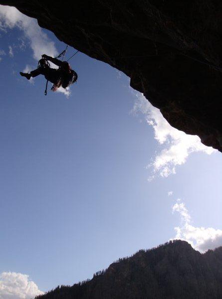 Rock Climbing Photo: Guardian of Death