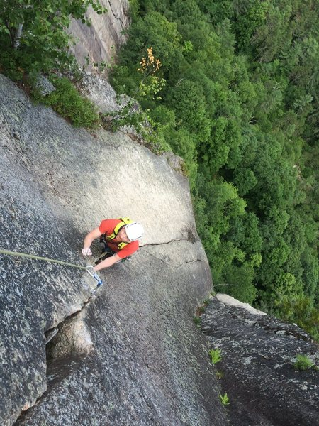 The Prow Finish, Cathedral Ledge, NH
