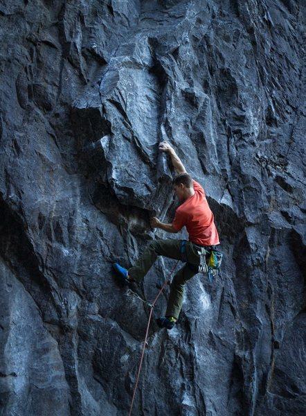 Such a classic climb