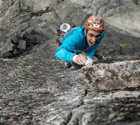 Rock Climbing Photo: Throwing! King Kong 5.11d IV First Ascent Mt Stuar...