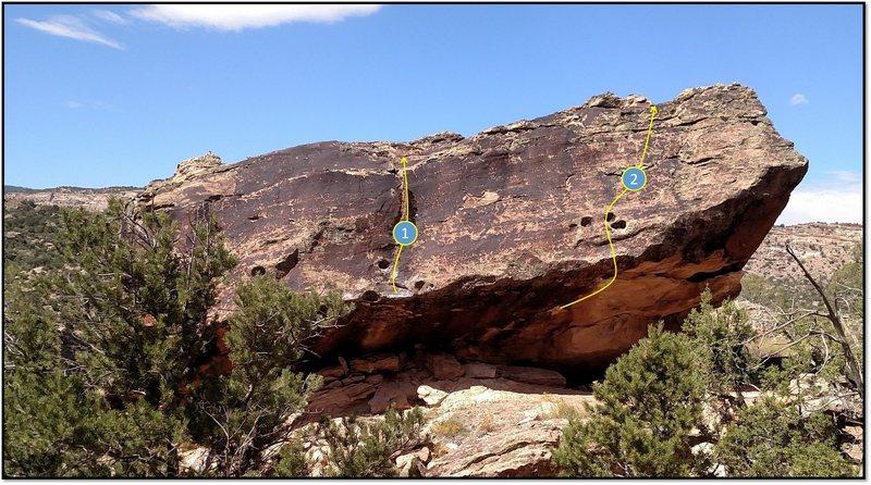 Rock Climbing Photo: 1. Smart Aleck