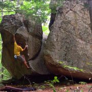 Rock Climbing Photo: Nate Vince on Stop in French