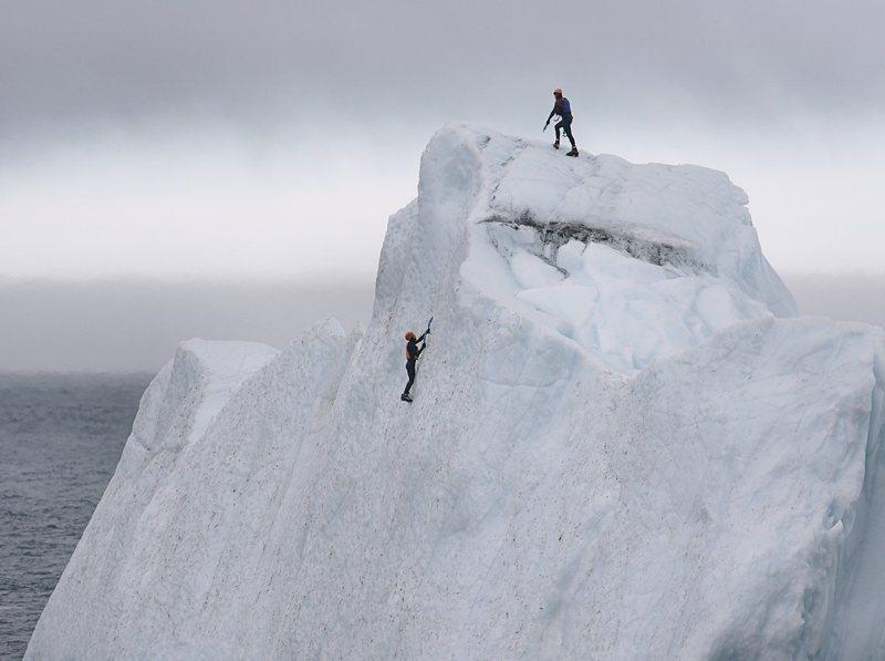 Rock Climbing Photo: Did you hear that crack?